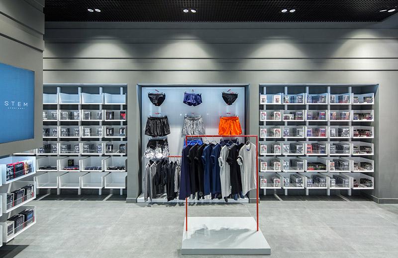 StemUnderwear - освещение магазина нижнего белья - 5