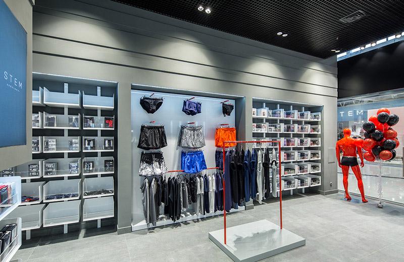 StemUnderwear - освещение магазина нижнего белья - 4