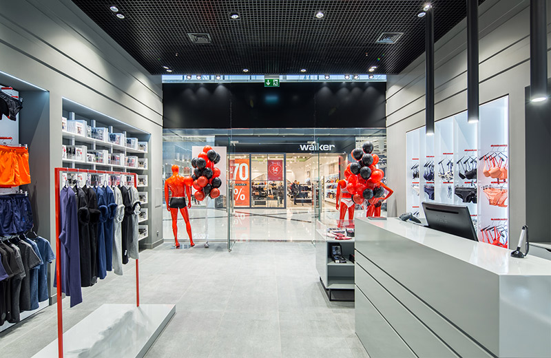 StemUnderwear - освещение магазина нижнего белья -1