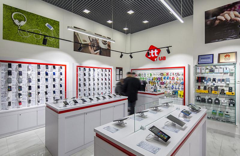 ttt - освещение магазина смартфонов и аксессуаров - 2