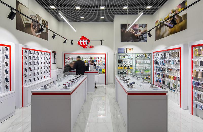 ttt - освещение магазина смартфонов и аксессуаров - 5
