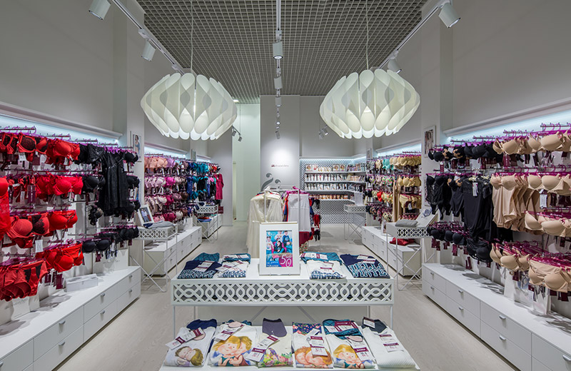 Anabel Arto - освещение магазина женского белья - 6