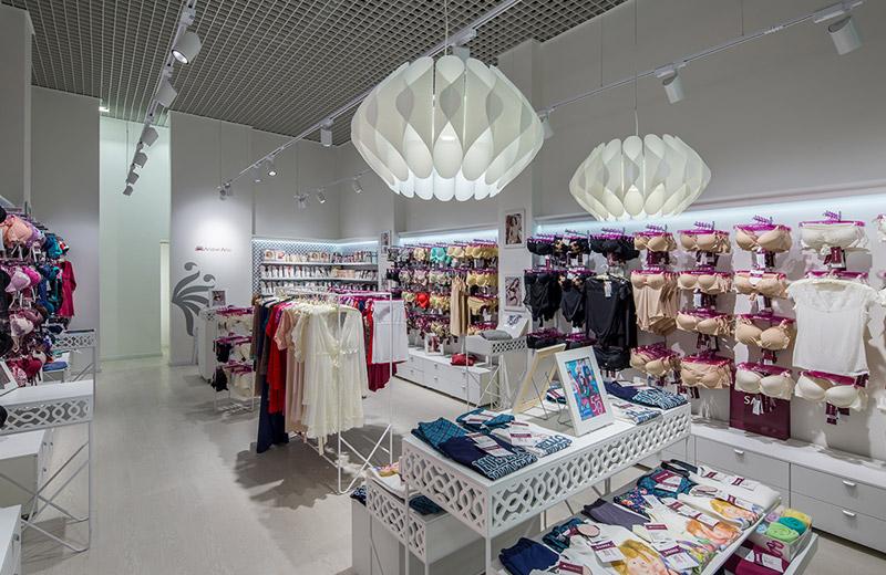 Anabel Arto - освещение магазина женского белья - 4