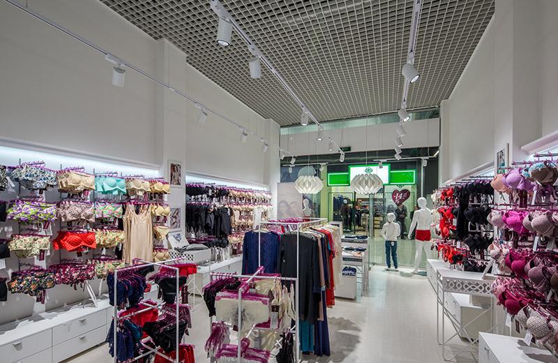 Anabel Arto - освещение магазина женского белья -2