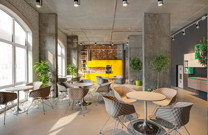 Cappuccino - освещение мебельного салона - 1