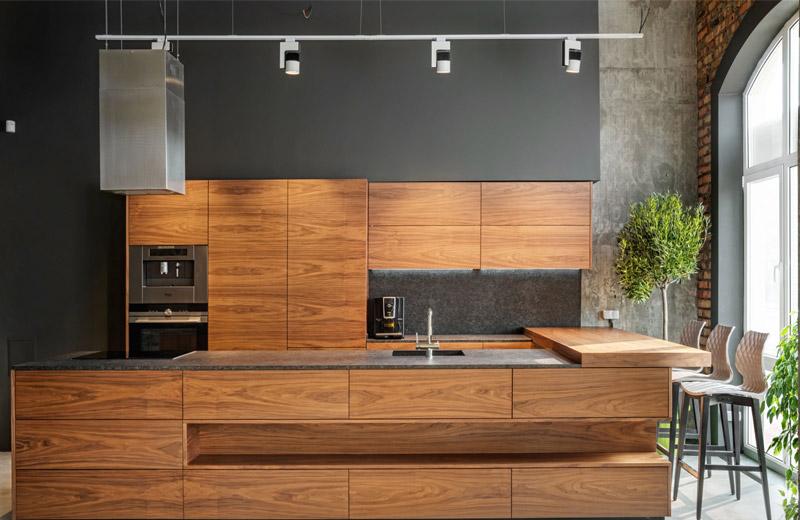 Cappuccino - освещение мебельного салона - 3