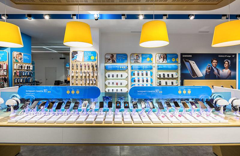 Kievstar - освещение центра обслуживания клиентов -4