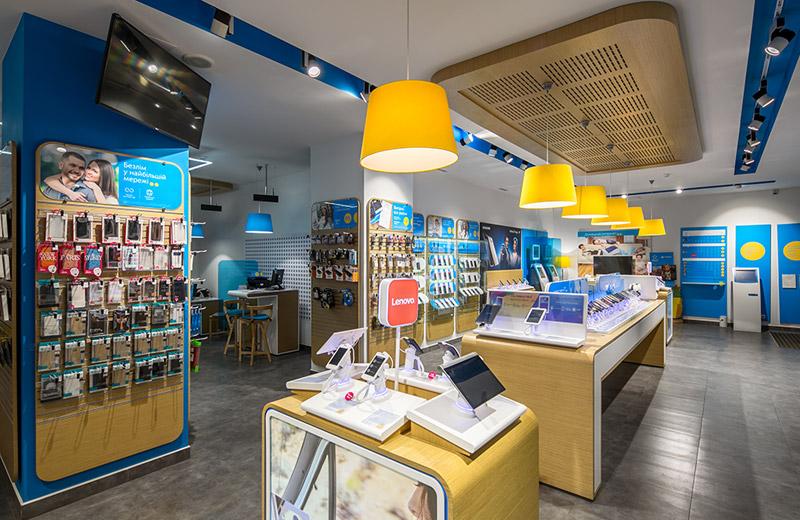 Kievstar - освещение центра обслуживания клиентов -5