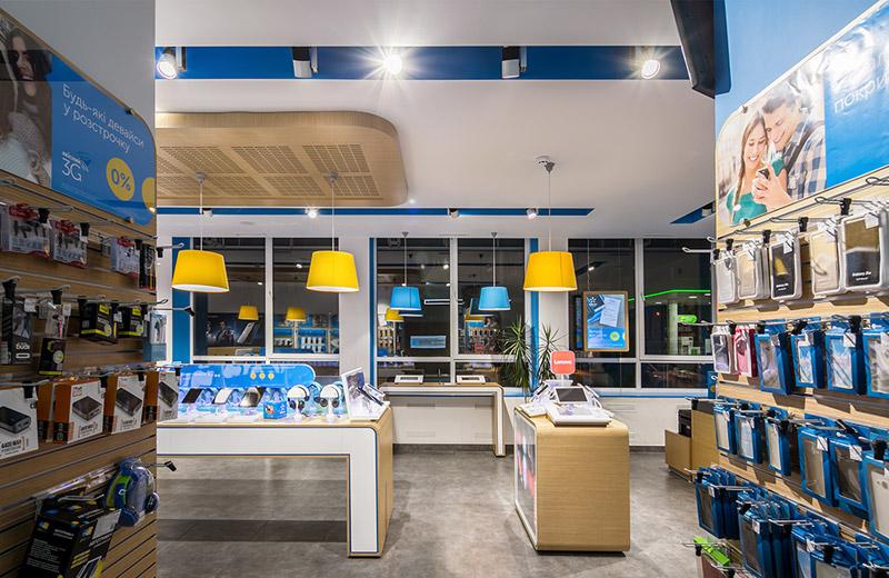 Kievstar - освещение центра обслуживания клиентов -6