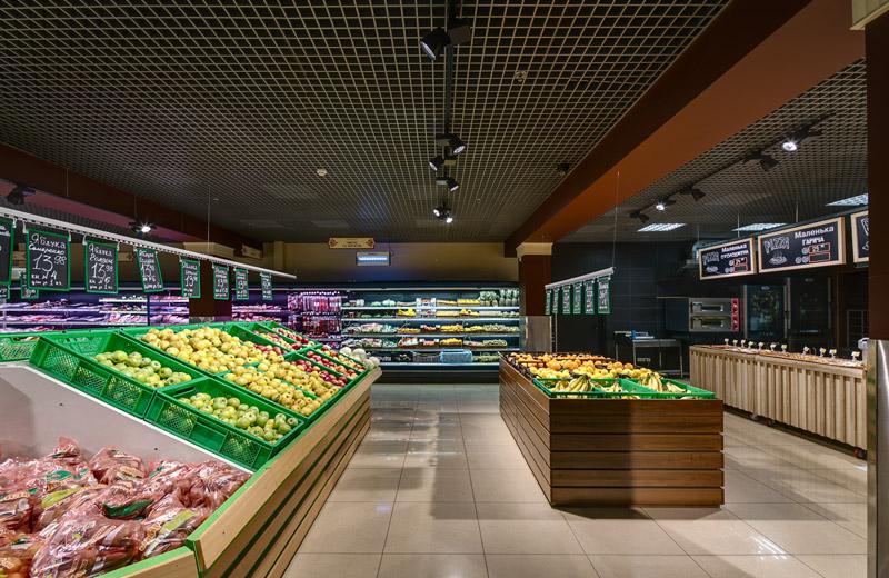 Kontinent - освещение магазина продуктов - 4