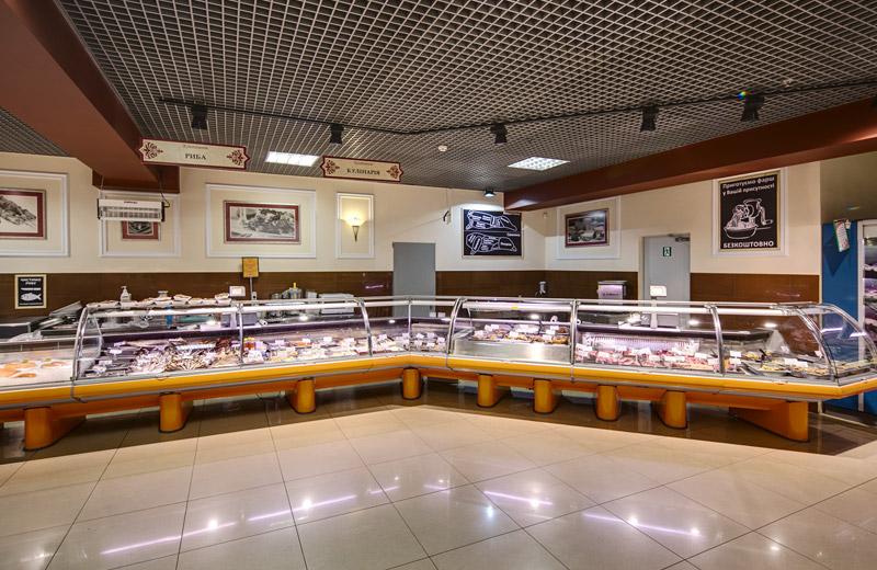 Kontinent - освещение магазина продуктов - 5