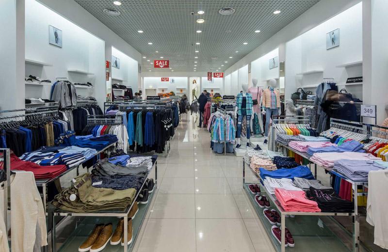 Oodji - освещение магазина одежды - 1