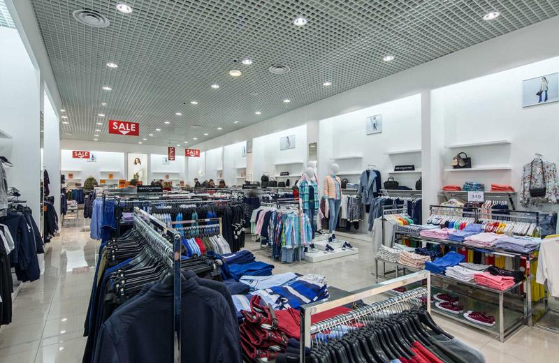 Oodji - освещение магазина одежды - 2