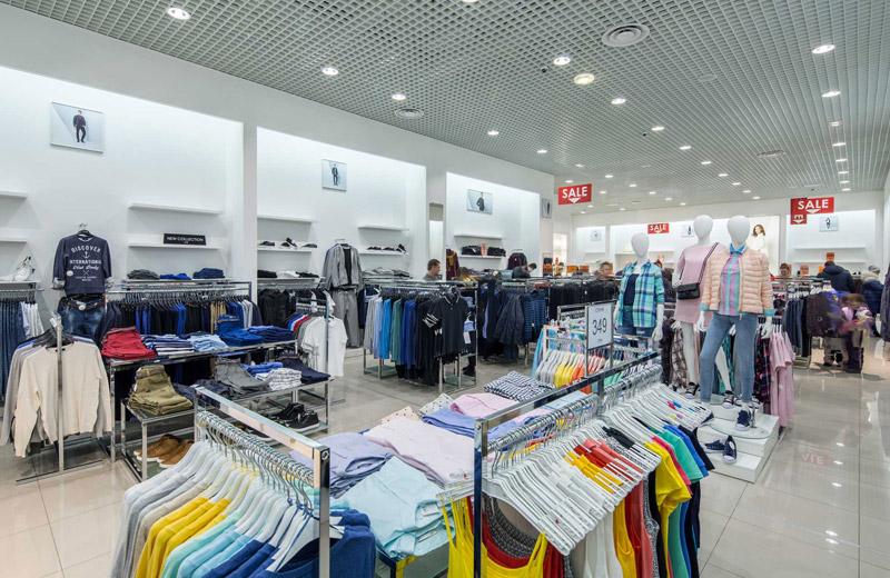 Oodji - освещение магазина одежды - 3