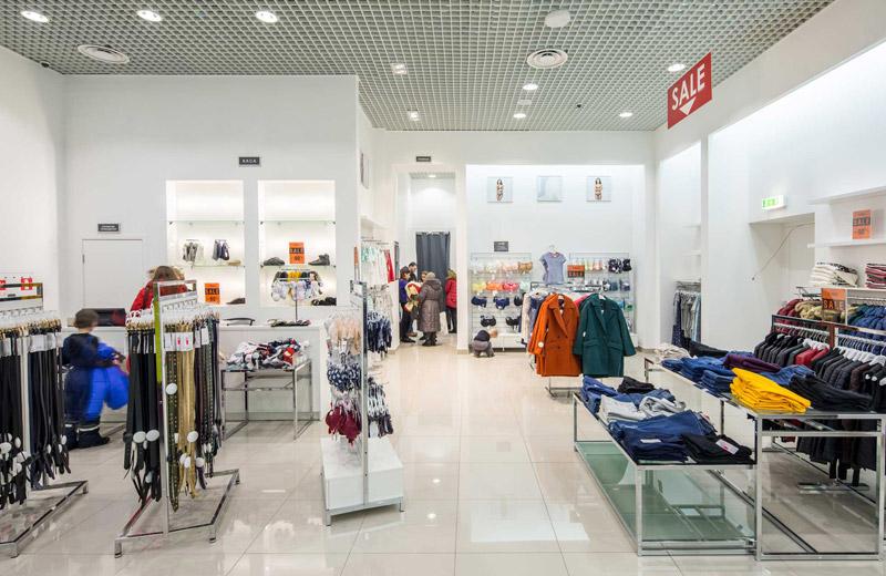 Oodji - освещение магазина одежды - 5