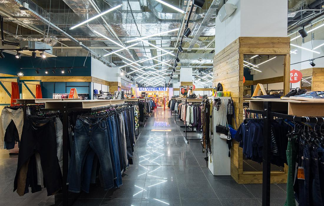 OrangeClub - Освещение магазина одежды