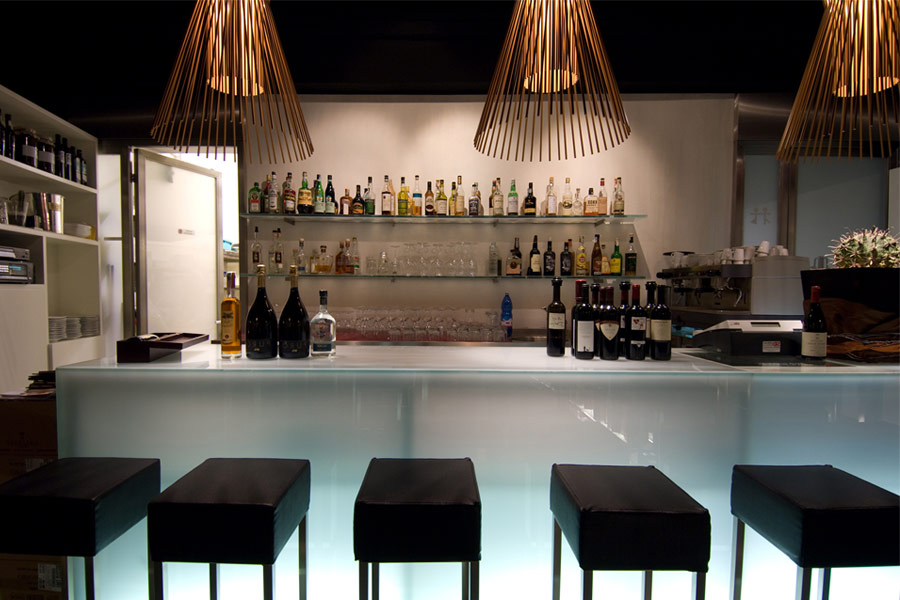 Освещение барной стойки