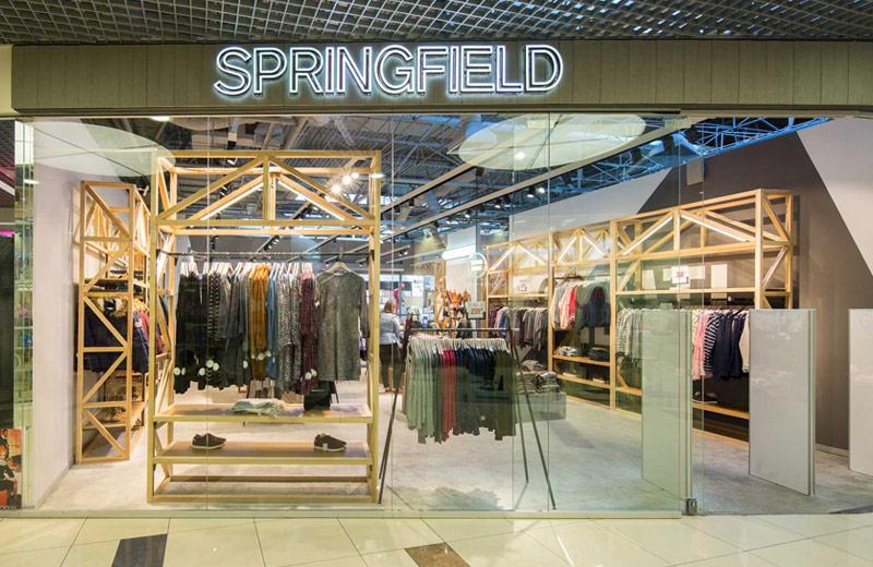 Springfield - освещение для магазина одежды - 6