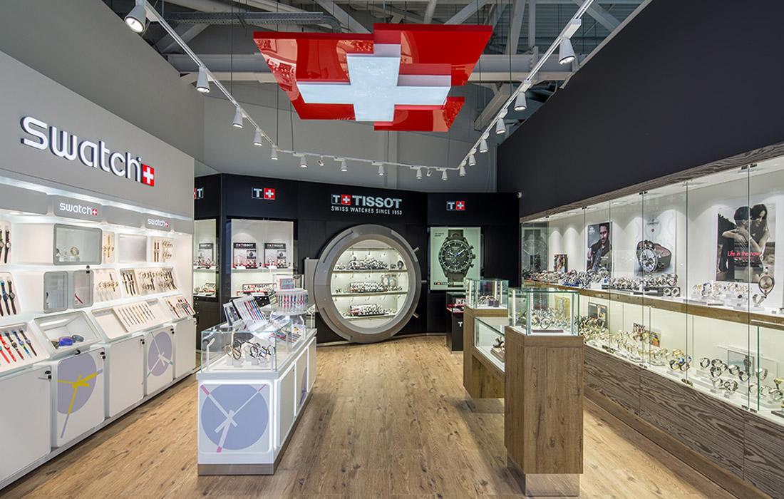 Zifferblatt - Освещение магазина часов