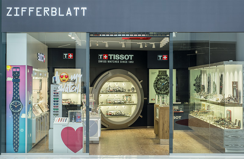 Zifferblatt - освещение магазина часов - 1