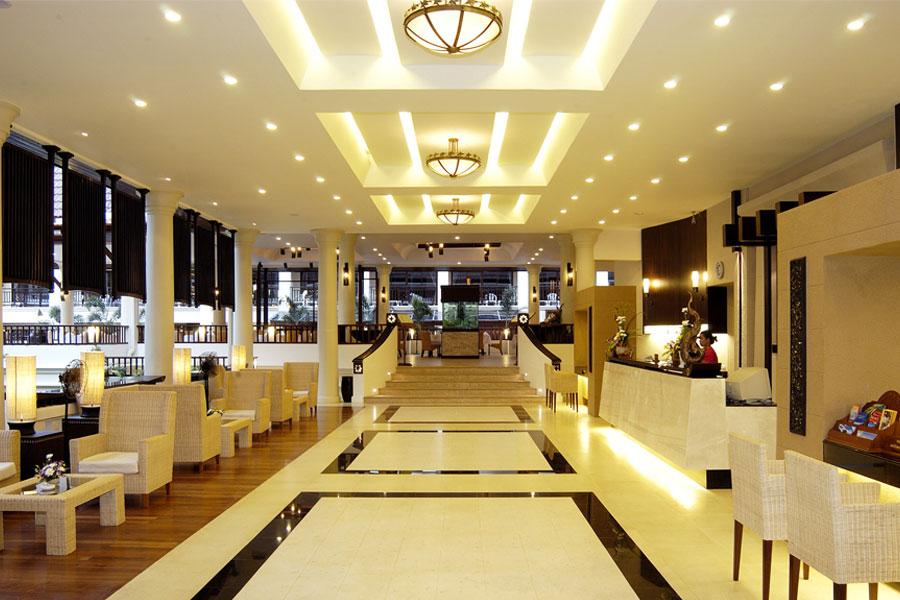 Освещение отелей