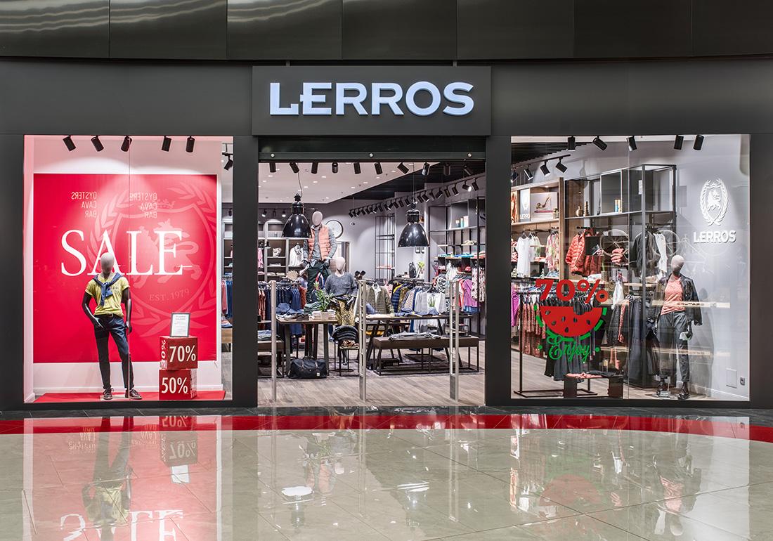 Освещение для магазина одежды - Lerros