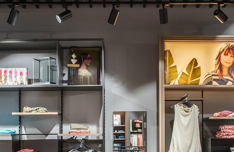 Освещение для магазина одежды - Lerros - 4