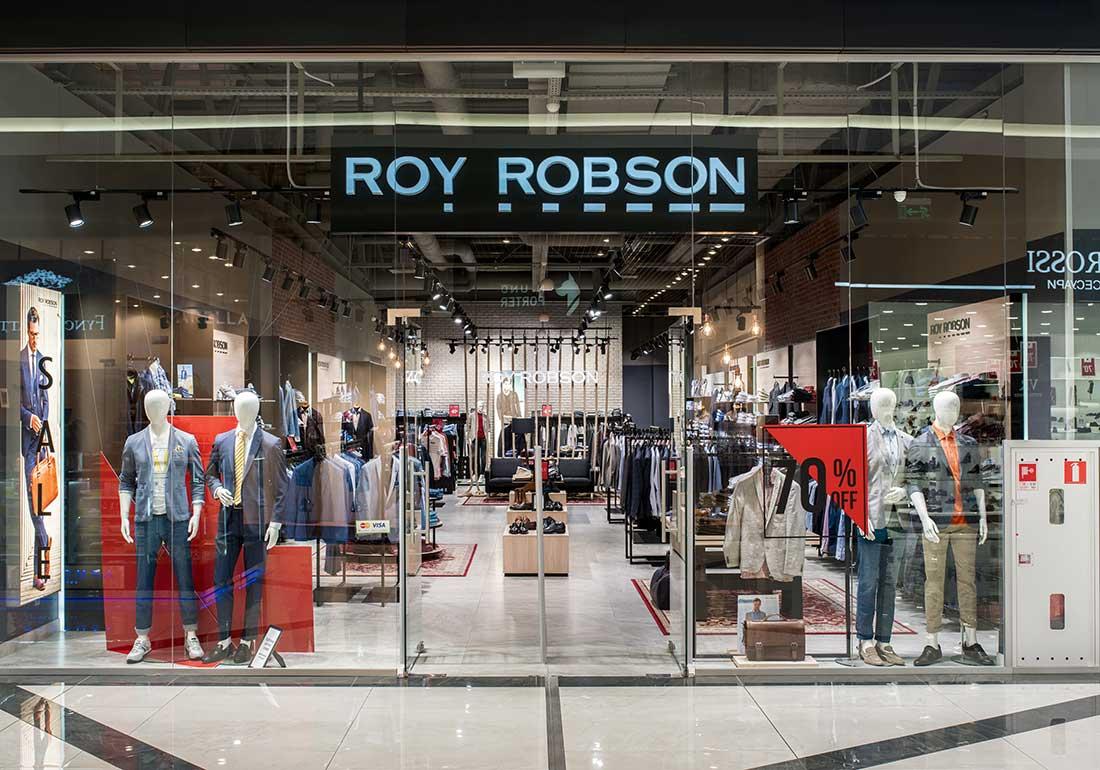 Проект освещения для магазина одежды - Roy Robson