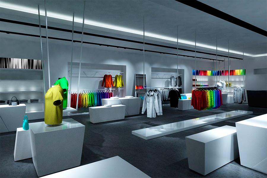 Виды освещения для магазина
