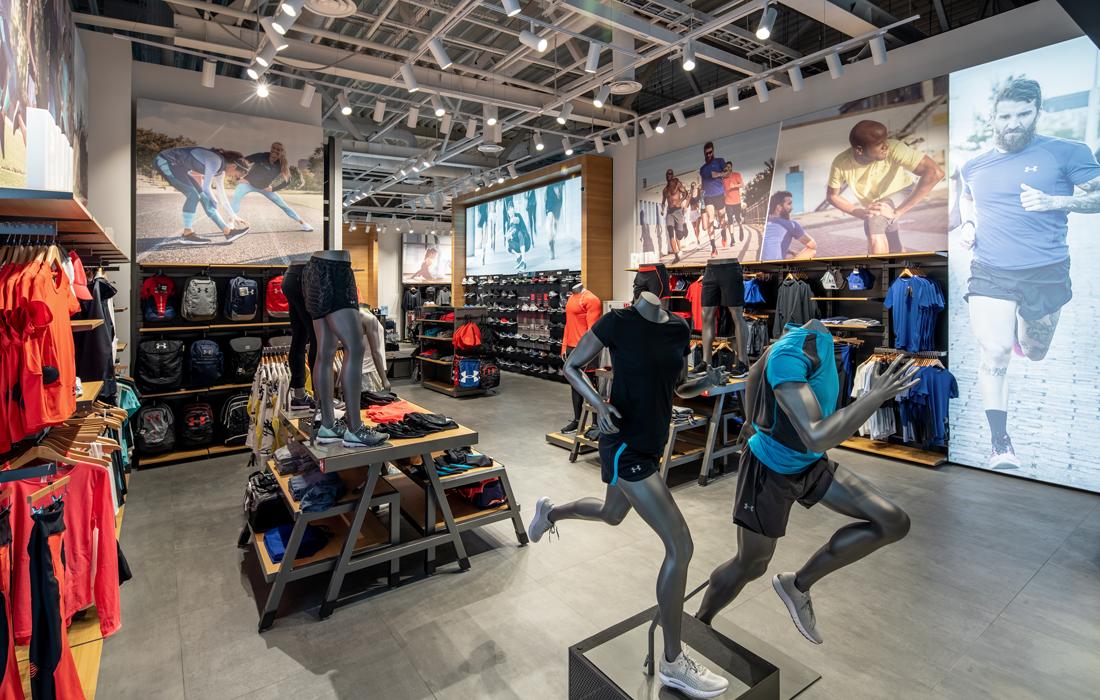 Освещение магазина спортивной одежды-5